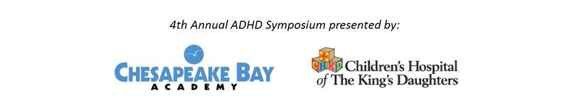 4th Annual ADHD Symposium Sponsored by CHKD and CBA