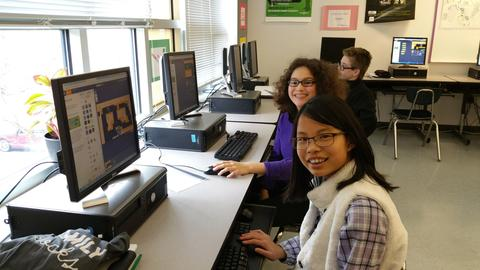 Hour of Code at Chesapeake Bay Acadmey