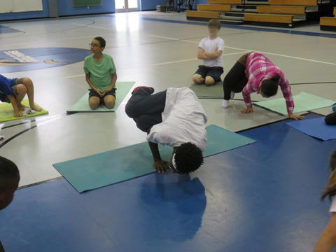 Yoga at Chesapeake Bay Academy