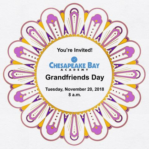 Grandfriends Day at Chesapeake Bay Academy
