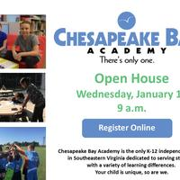 Jan. 17 Open House at Chesapeake Bay Academy